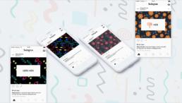 Campaña publicitaria en Instagram del AdBlock de Happy Socks