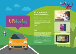 Un GPS que cuenta cuentos a los niños pequeños