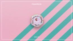 Donut personalizado para anunciar la llegada de ING a Apple Pay